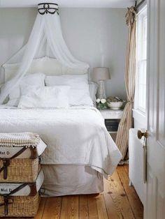 30 propuestas de dormitorios blancos - Blog Tendencias y Decoración