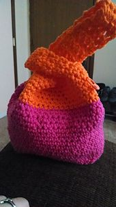 Ravelry: Japanese Knot Project Bag pattern by Julie Blagojevich