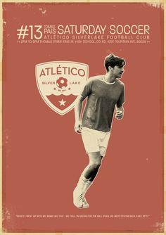 Tomas poster, Atlético Silverlake, soccer, football, fútbol