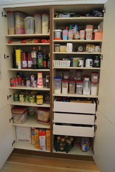 Reorganising The Pantry and Getting Rid Of Pantry Moths from Planning with Kids
