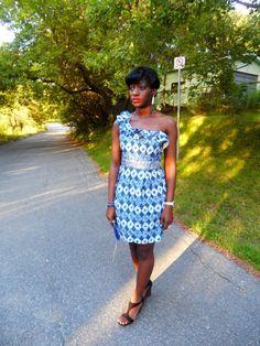 #Ankara #Africanprint mono strap dress up for grabs here http://thekaleidoscopian.com/2013/07/29/an-ankara-giveaway-a-mono-strap-dress-matching-clutch/