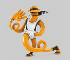 Today we want to show you works of talanted artist Mark Gmehling from Germany. He's working with Cinema for 8 years and specialized in character design. 3d Cartoon, Cartoon Characters, Creative Illustration, Digital Illustration, 3d Character, Character Design, Toy Rooms, Animation, Illustrator Tutorials