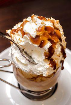 Salted Caramel Mocha Indulgence: Creamy LAND O LAKES<sup>®</sup> Half & Half makes this chocolate caramel coffee extra rich.