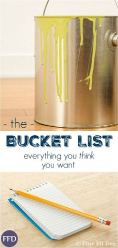 Real Life Bucket List. What's on your bucket list - what you think you *should* want to do, or real life dreams? If someone offered you a bucket list item, would you actually do it?
