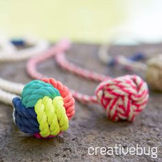 Courtney will teach you how to create a small Monkey Fist Knot pendant and then add a vibrant ac...