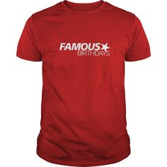 Famous Birthdays White Logo T-Shirt  #gift #ideas #Popular #Everything #Videos #Shop #Animals #pets #Architecture #Art #Cars #motorcycles #Celebrities #DIY #crafts #Design #Education #Entertainment #Food #drink #Gardening #Geek #Hair #beauty #Health #fitness #History #Holidays #events #Home decor #Humor #Illustrations #posters #Kids #parenting #Men #Outdoors #Photography #Products #Quotes #Science #nature #Sports #Tattoos #Technology #Travel #Weddings #Women