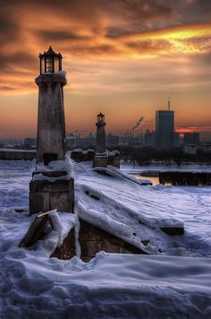 Warm Colors of a Cold Air by diMMilan Photography 4/14/10 -- Serbia, Belgrade, Kalemegdan fortress and park