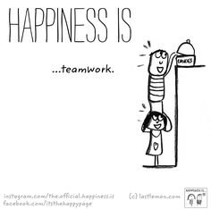 Having great coworkers | my Happiness is... | Team ...