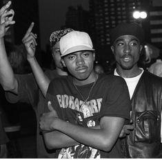Tupac ❌ Nas  PINTEREST:DEE✨✨