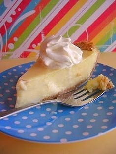 It's hard to have just one piece of lemon ice box pie!