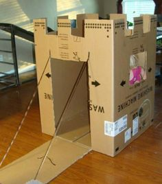 16 Cardboard Box Crafts for Kids Cardboard Box Crafts for Kids . 16 Cardboard Box Crafts for Kids . 22 Incredible Kids toys You Can Make From Cardboard Boxes