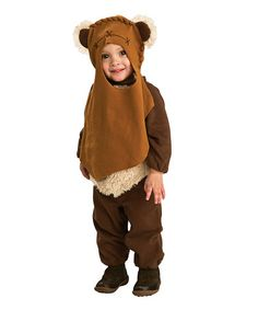 Take a look at this Brown Ewok Romper Set - Toddler by Star Wars on #zulily today!
