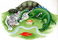Four Celestial Animals for Excellent Feng Shui - Green Dragon to the East, Red Phoenix to the South, White Tiger to the West, Black Turtle to the North