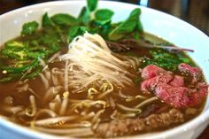Some say ramen originated in China, others that it was invented in Japan in the early 20th century. However, by 1900, restaurants serving Chinese cuisine from Canton and Shanghai offered a simple ramen dish of noodles (cut rather than hand pulled), a few toppings, and a broth flavoured with salt and pork bones.