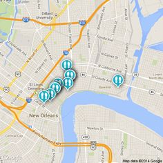 #NewOrleans is filled with jazz! Check out this #map for the best #jazz spots! http://www.strayboots.com/p/zqm9