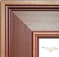 dc6d5736ded Weathered Wide Wood Picture Frame~HARDWOOD~Rustic Red Fade~MADE IN USA~ALL  SIZES  HandmadeInVermont  RusticPrimitive