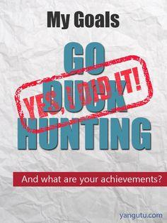 It's My Achievement: Go duck hunting #Achievements, #personal, #bestofpinterest, https://apps.facebook.com/yangutu