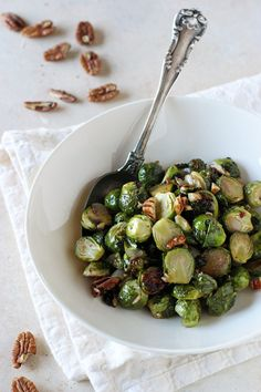 Smoky Maple Chipotle Brussels Sprouts