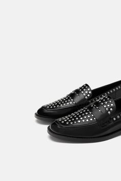 3ee1e54185d17b Image 5 of STUDDED MOCCASIN from Zara Moccasins