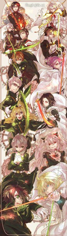 Owari no Seraph (Seraph of the End) characters