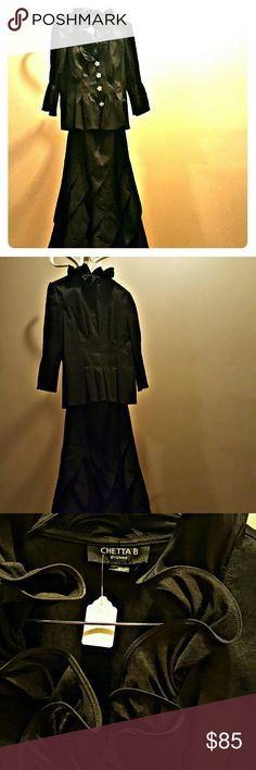 Chetta B evening dress Chetta B evening dress...size 10 two piece full length skirt Dresses Maxi