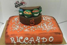 Ninja Turtle Cake - Torta con Tartarughe Ninja