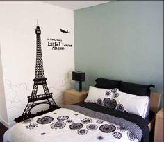 Eiffel Tower Decor For Bedroom - Home Design Ideas