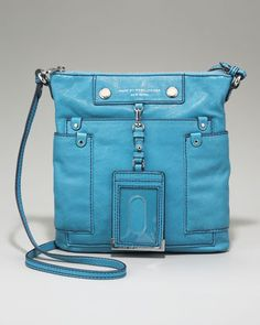 Preppy Leather Sia Crossbody Bag by MARC by Marc Jacobs at Bergdorf Goodman.