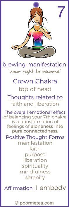 chakra meditation balancing & healing, chakra tea meditations, crown chakra