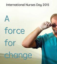 Celebrating #InternationalNursesDay 2015!  #NursesDay2015 #IND2015 #NursesWeek #hoitotyö #May12