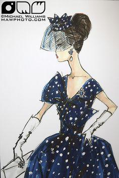 Gay Parisienne-inspired Dealer Exclusive Silkstone Barbie Concept Sketch by Robert Best??? | Flickr - Photo Sharing!