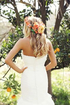 Paradise Falls Flower Crown