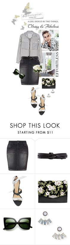 """Classy and Fabulous"" by shortyluv718 ❤ liked on Polyvore featuring Miss Selfridge, Isabel Marant, Alexandre Birman, Rochas, ZeroUV, Aéropostale and National Tree Company"