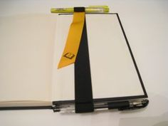Booksling with Pen and Highlighter