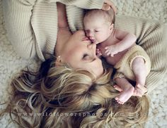 Beautiful Baby and Mom Photos -- Check these adorable photos of baby and their moms. Get more baby photos at The Bump.