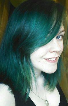 Manic panic enchanted forest hair dye :) @Jess Liu Ludwick Panic NZ