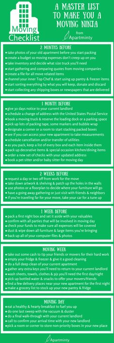 essential moving checklist | moving to a new apartment | Moving tips