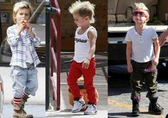 Kingston Rossdale got style