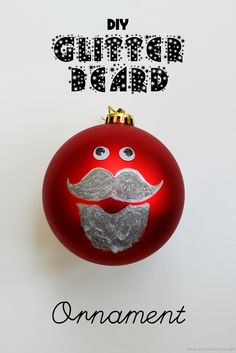 DIY Glitter Beard Or