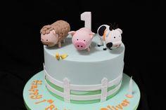 Pastel farm cake