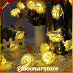 20 LEDs rosa luzes cordas de fadas casamento festa de natal jardim decoração LED FYMHM700 * 55 em Flores & coroas decorativas de Casa & jardim no AliExpress.com | Alibaba Group