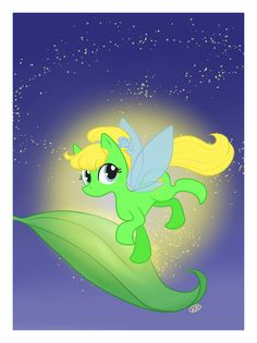 Tinkerbell/ My Little Pony mashup
