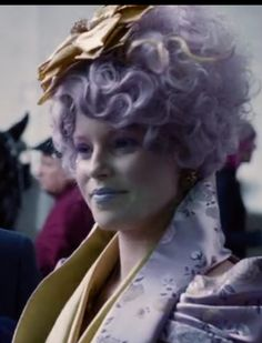 The ever updating Effie, looking as iconic as always.