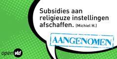 religieuze subsidies