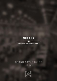 Mokara brandmanual  Branding created for Robot Factory in Thailand.