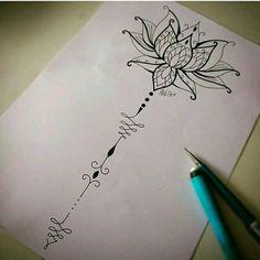 Flor de Lotus #flordelotus #lotusflower #tattoo2me #tattoo #tatowierung #t4ttoois #tatouage #tonoinsptattoos #tattoodo #tattoobrasil