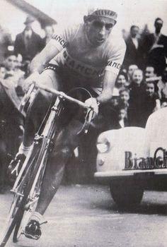 "roadworksbicyclerepairs: "" Fausto Coppi 1952 """