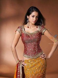 Saree Blouse Designs Waist Length Google Search Wedding Saree