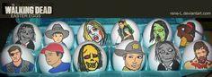 Walking Dead Ostereier   Dravens Tales from the Crypt - http://www.dravenstales.ch/walking-dead-ostereier/