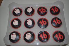 Billen cupcakes voor Aron